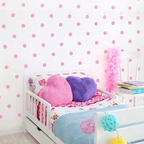 circulos ou bolas em vinil para parede infantil